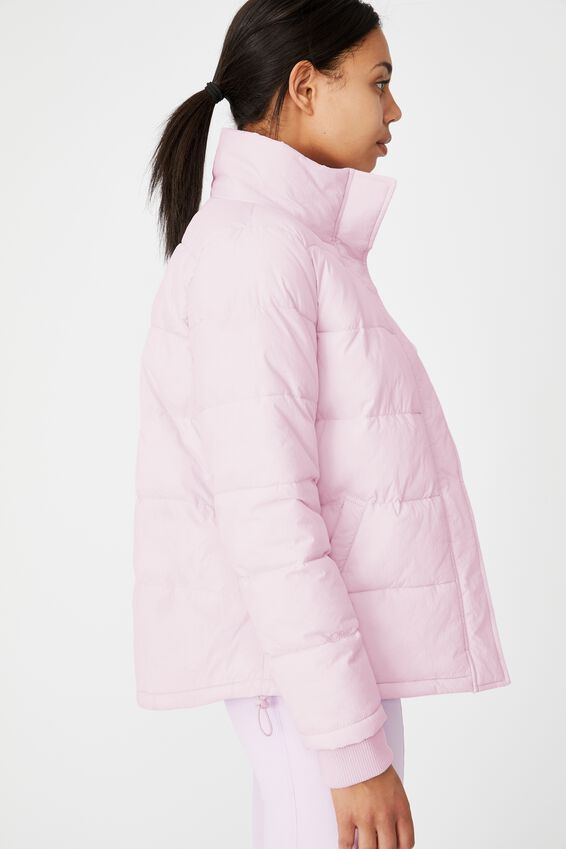 The Mother Puffer Jacket, BLOSSOM