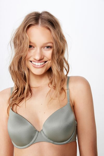 Ultimate Comfort T-Shirt Bra, STEELY SHADOW