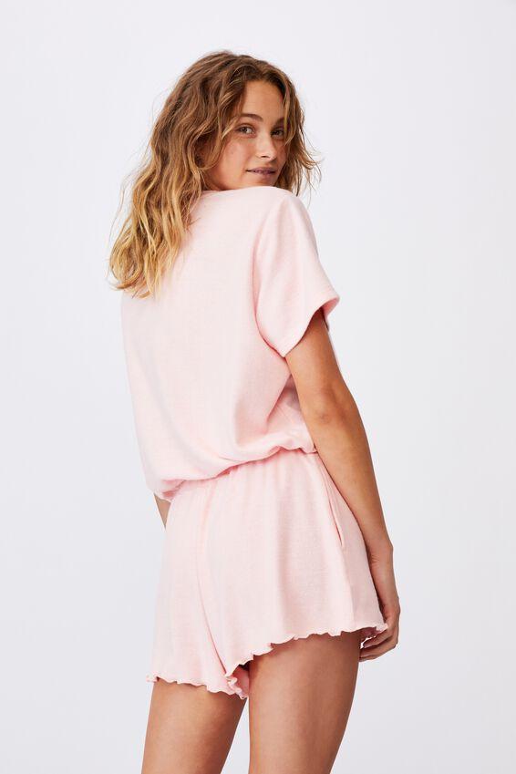 Super Soft Draw Cord T-Shirt, FAIRY TALE MARLE