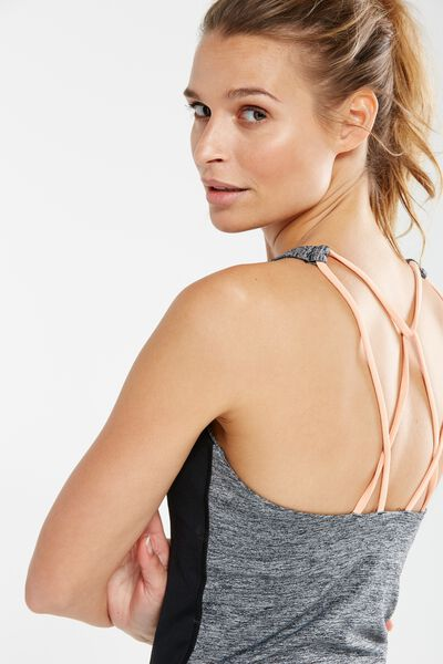 Tone Up Tank Top, SALT & PEPPER/MANGO