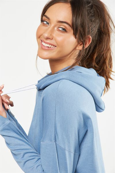 Active Hoodie, FROSTED BLUE