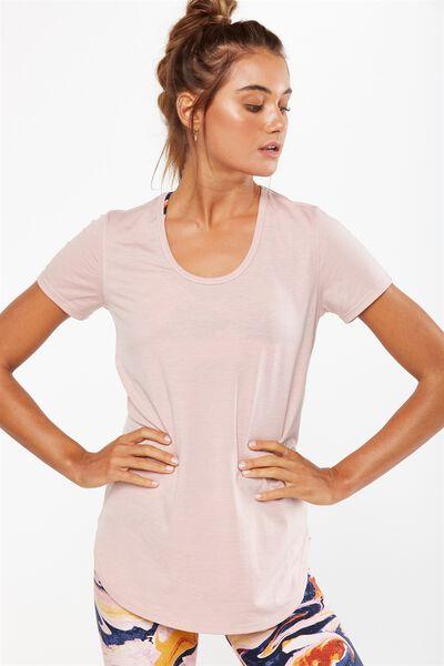 Gym T Shirt, MISTY PINK