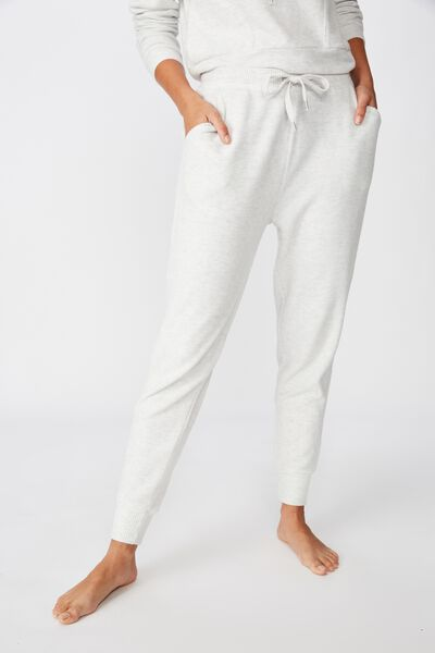 Supersoft Slim Fit Pant, SOFT GREY MARLE