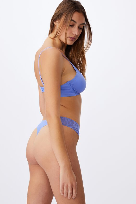Party Pants Seamless G-String Brief, CORNFLOWER LILAC
