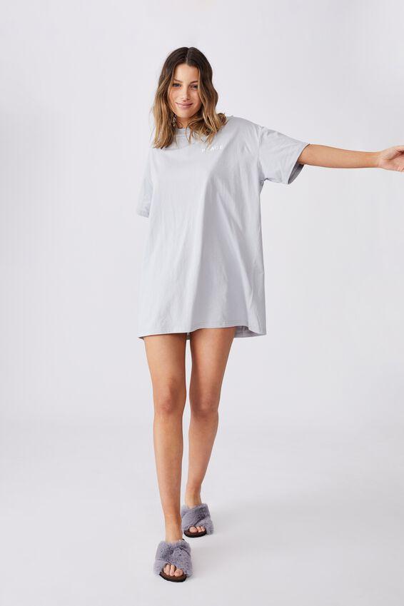 90 S Tshirt Nightie, LUNAR ROCK/PEACE
