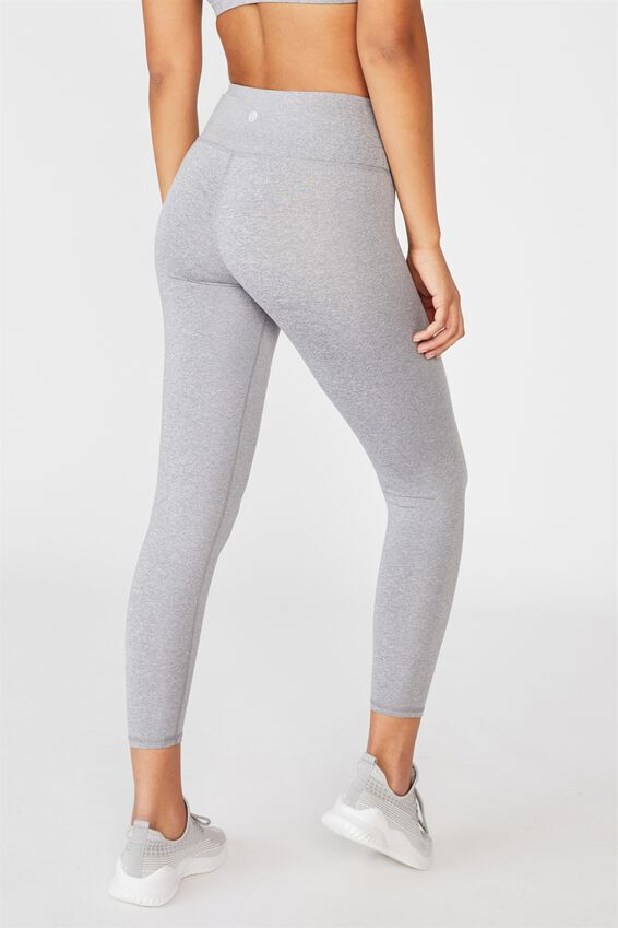 Active Core 7/8 Tight, MID GREY MARLE