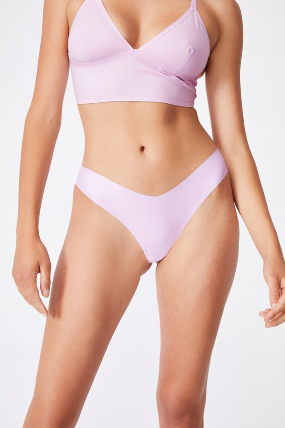 The Invisible G String Brief 3Pk, MINT CHIP/ TOSS DITSY/ LILAC SNOW