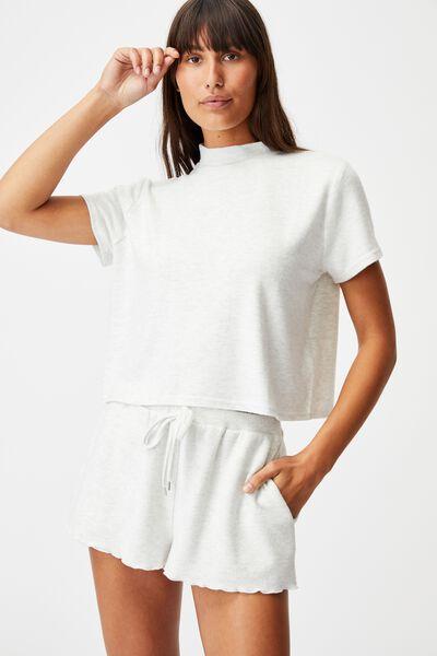 Super Soft Lounge T-Shirt, soft grey marle