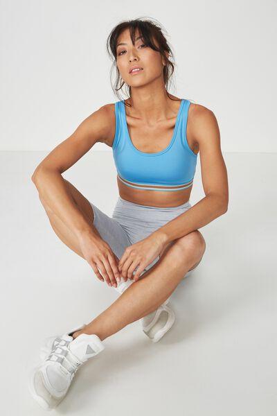 Workout Cardio Crop, CRYSTAL SEAS