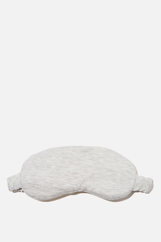 Sleep Eyemask, SOFT GREY MARLE