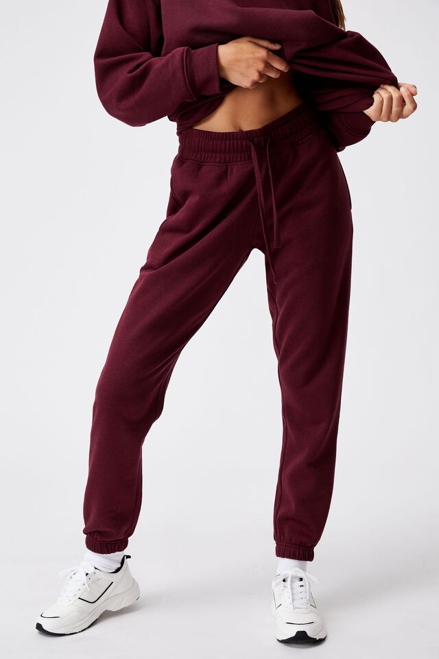 Lifestyle Gym Track Pant, MULBERRY