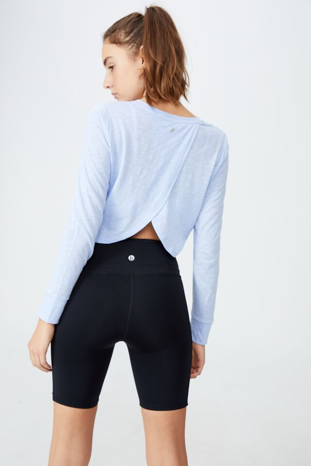 Lifestyle Long Sleeve Top, SERENITY