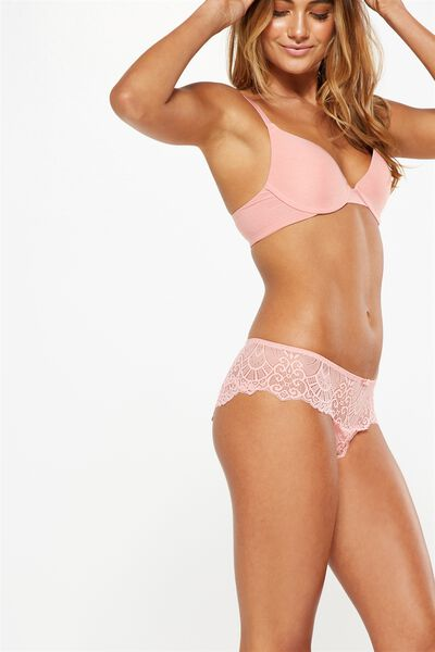 Candice Boyleg Brief, PEACHY PINK