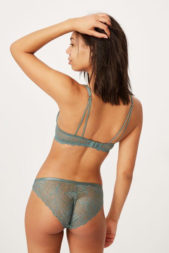Summer Lace Contour Bra, BONSAI GREEN