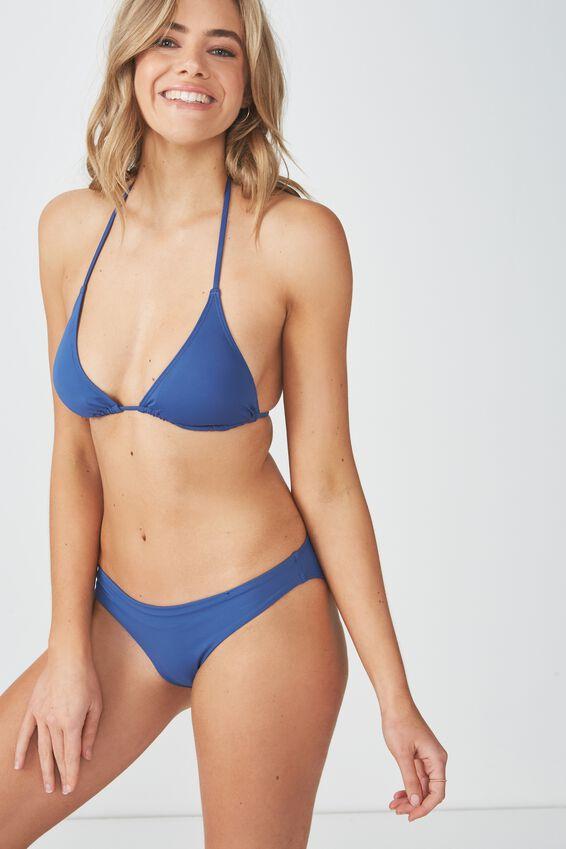 Classic Seamless Full Bikini Bottom, MARINA BLUE