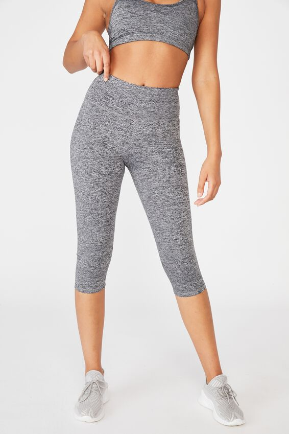 Active Core Capri Tight, SALT & PEPPER