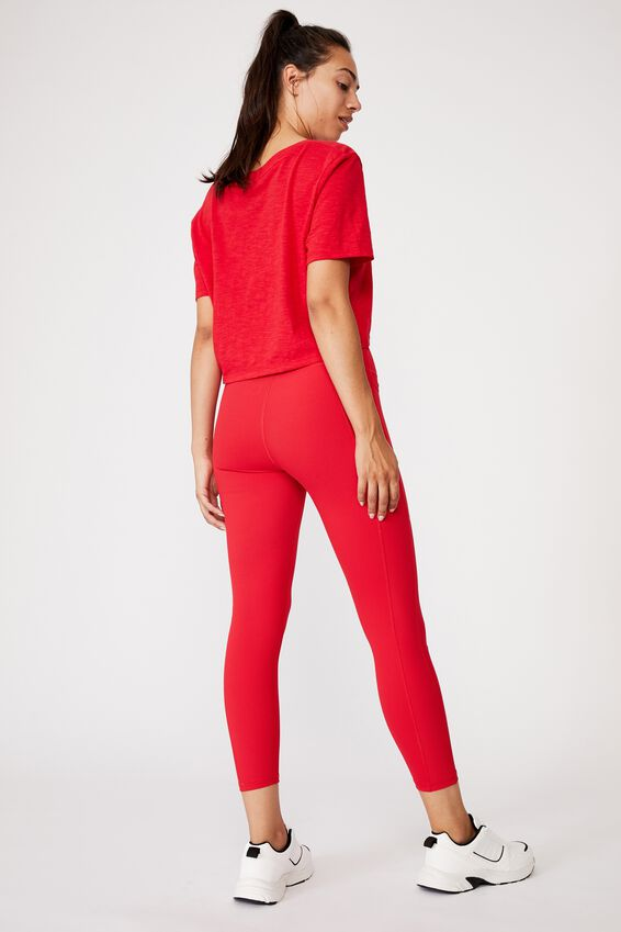 Rib Pocket 7/8 Tight, RED