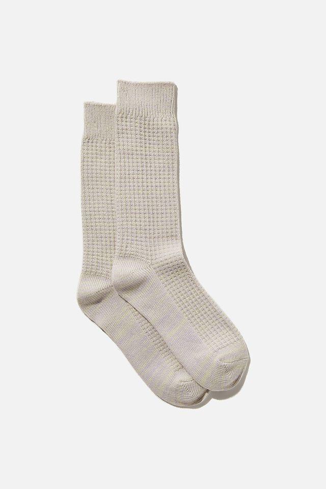 Knit Crew Sock, RAINBOW MARLE