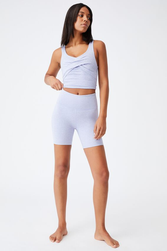 So Peachy Bike Short, PERIWINKLE MARLE