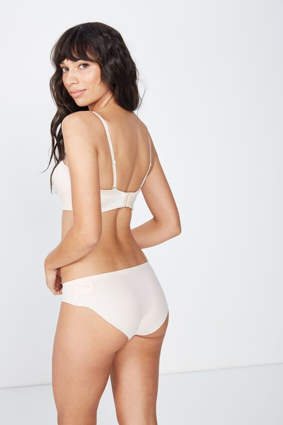 Seamless Essential Bikini Brief, SHELL