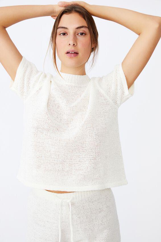 Summer Lounge T-Shirt, WHITE