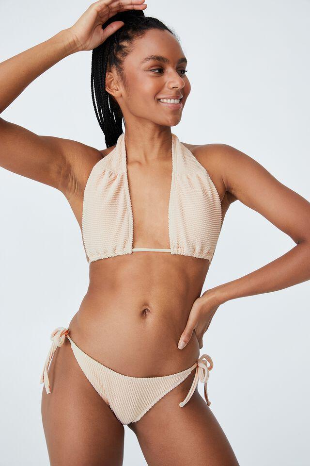 Floss Bikini Top, SANDCASTLE CRINKLE