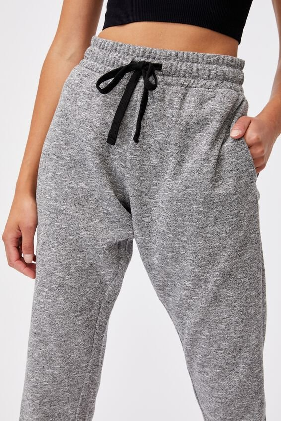Lifestyle Gym Track Pant, BLACK VARSITY