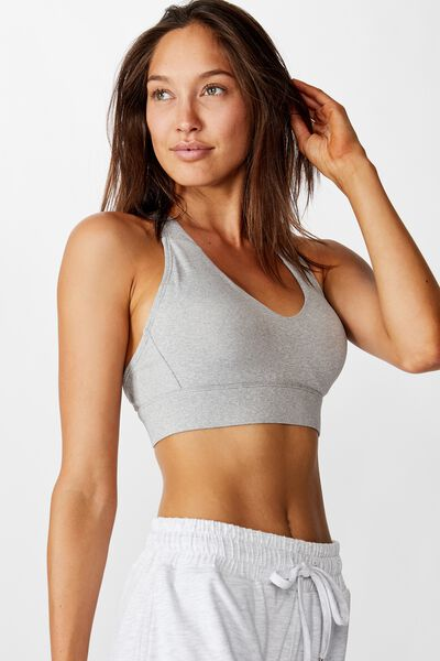 Workout Training Crop, SUMMER GREY MARLE