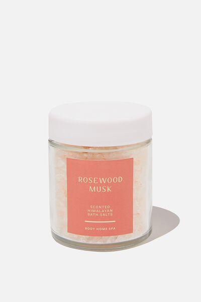 Himalayan Bath Salts Tub, WOOD ROSE