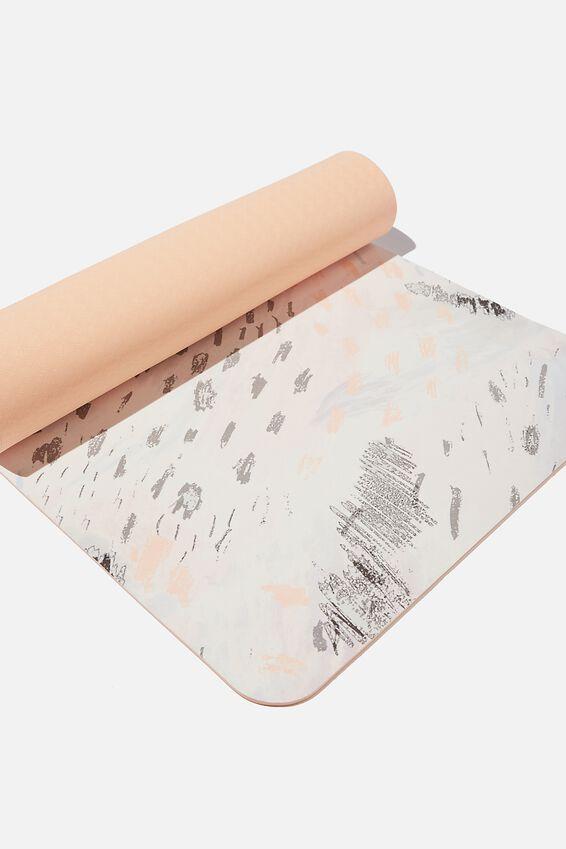 Premium Yoga Mat, SKETCH PRINT