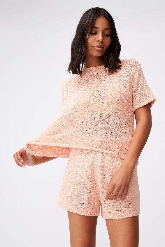 Summer Lounge T-Shirt, ROSE QUARTZ
