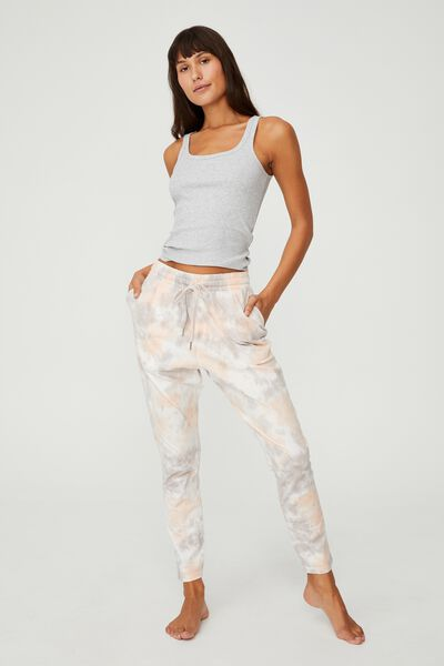 The Lounge Pant, SPLATTER TIE DYE QUAIL
