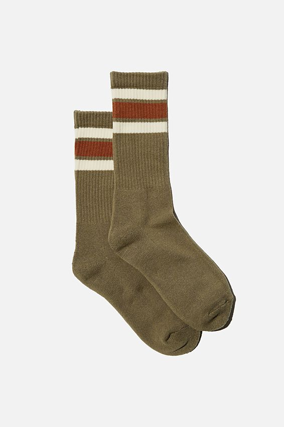 Staycation Sock, OREGANO