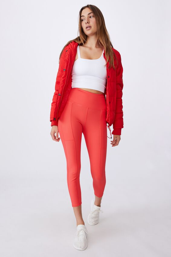 Rib Pocket 7/8 Tight, CANDY RED
