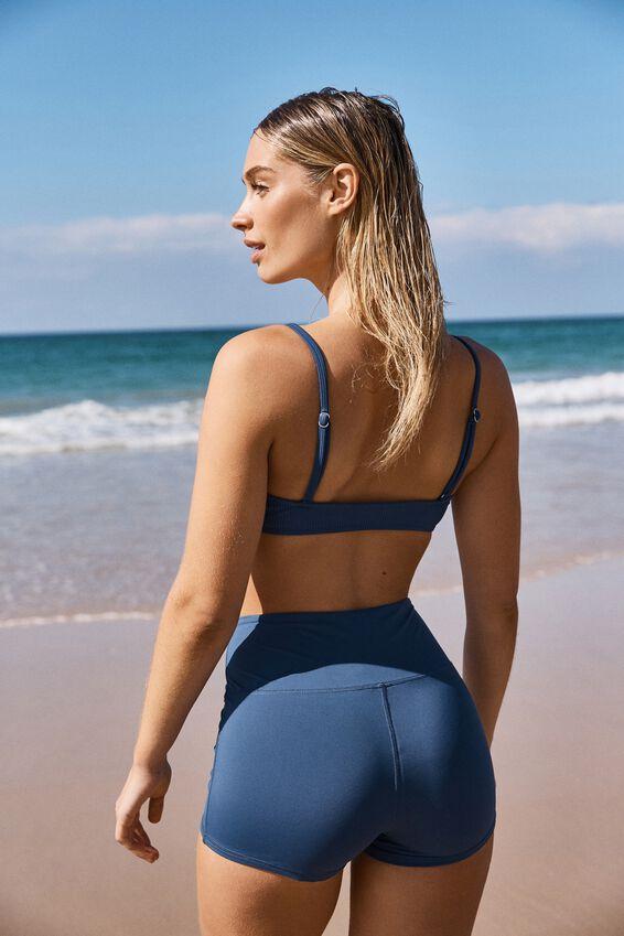 Panelled Swim Short, MARINA BLUE