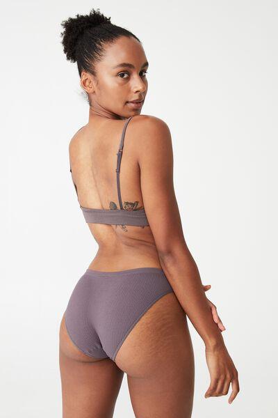 Seamless Bikini Brief (R), VERY BERRY