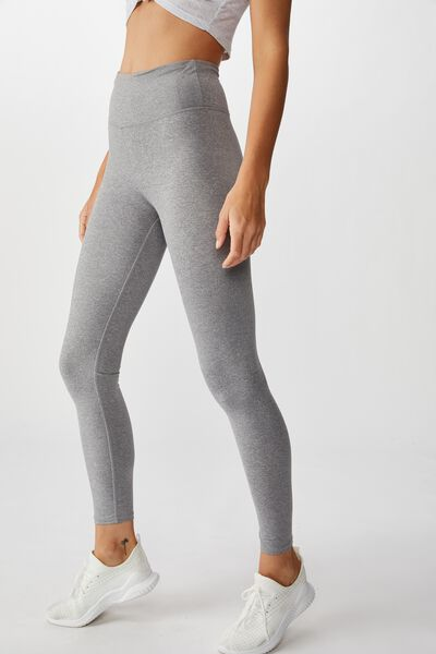 Active Core Tight, MID GREY MARLE