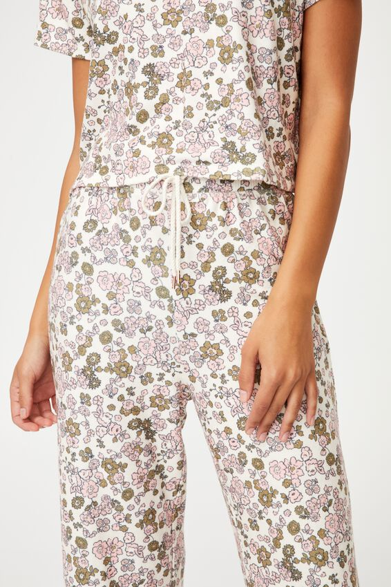 Super Soft Relaxed Pant, DRAWN DITZY