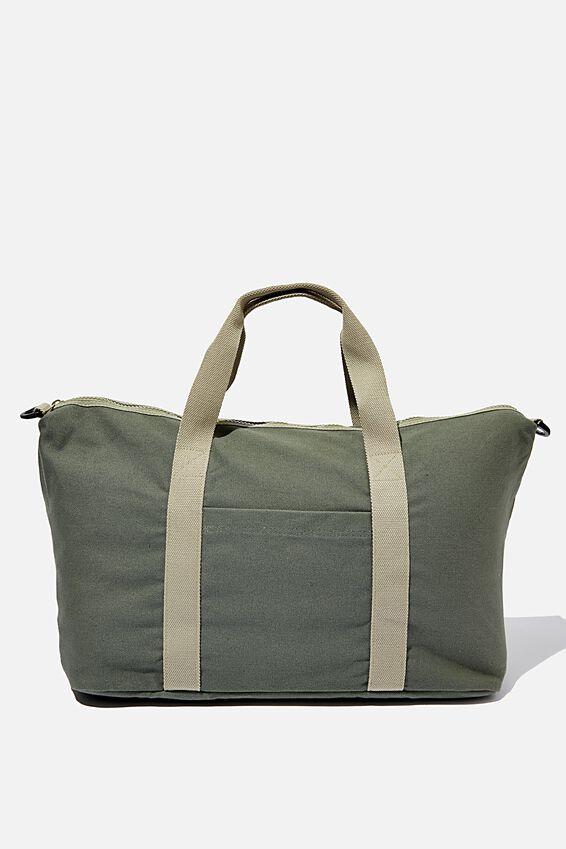 Body Duffle Bag, KHAKI