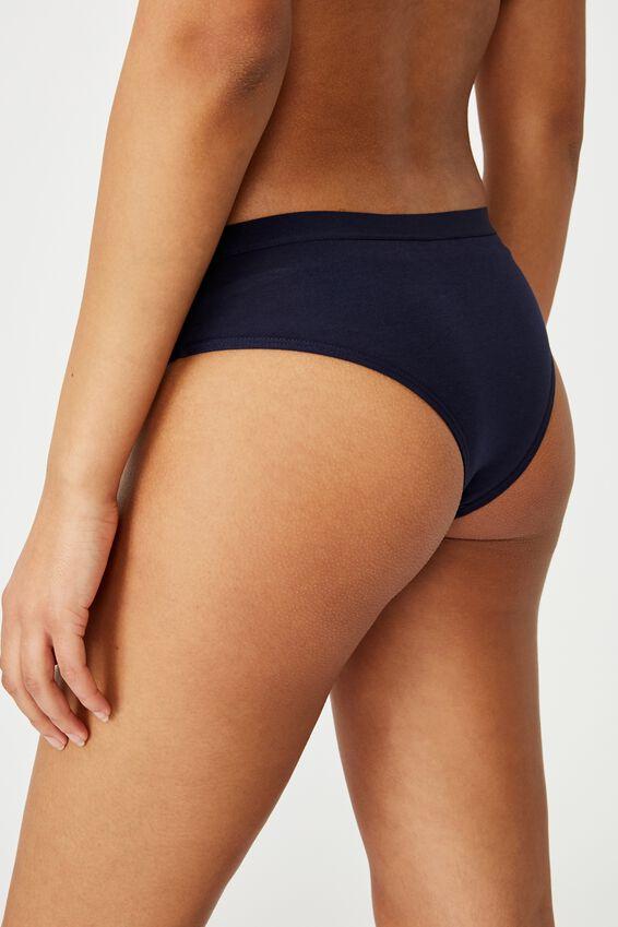 Sporty Femme Brasiliano Brief, CANYON CLAY/MIDNIGHT/WHITE