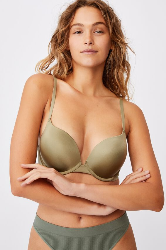Ultimate Comfort Push Up2 Bra, OREGANO