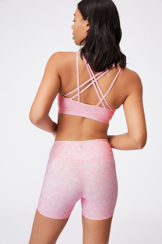 Strappy Sports Crop, SUMMER BLOOM FAIRY TALE