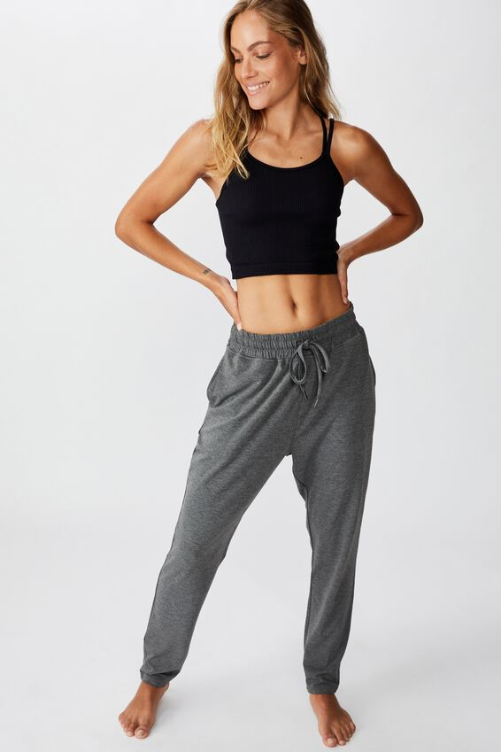 The Lounge Pant, CHARCOAL