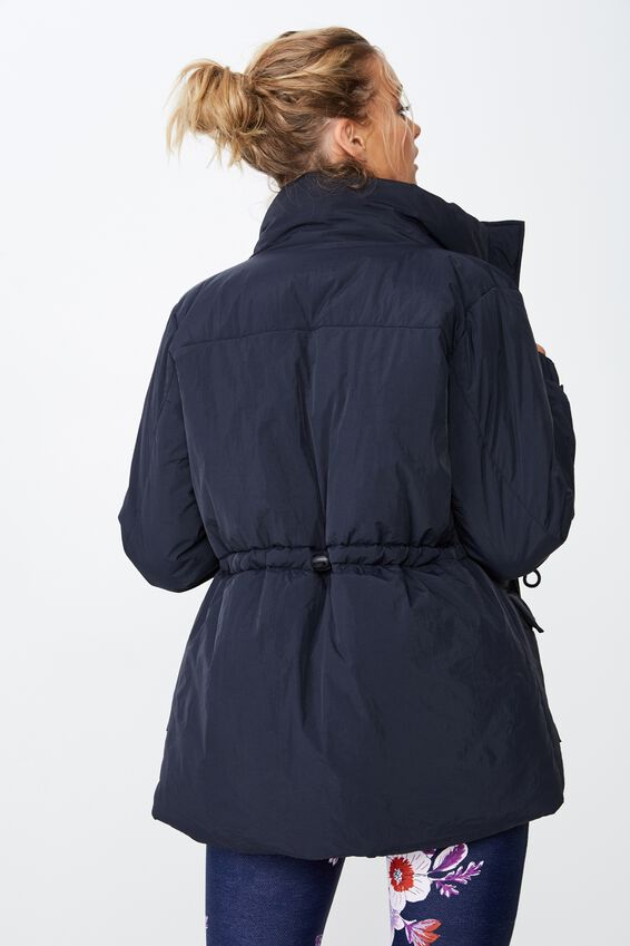 Mountain Puffer Jacket, NAVY