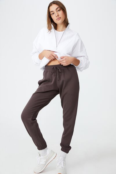 Lifestyle Gym Track Pant, PEPPERCORN