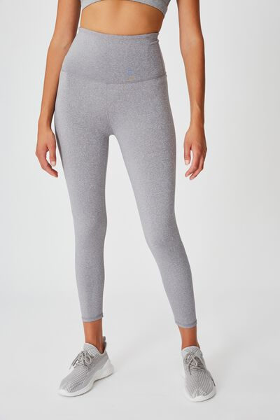 Active High Waist Core 7/8 Tight, MID GREY MARLE