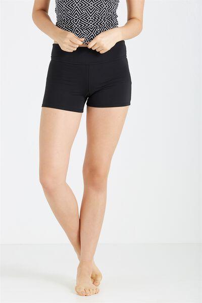 Swimwear Short, BLACK