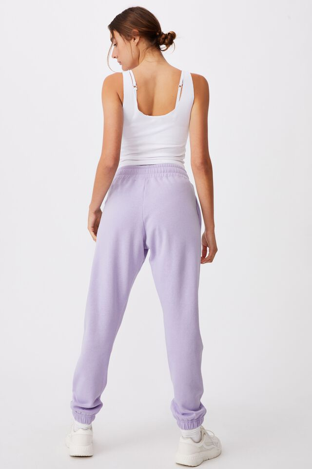 Lifestyle Gym Track Pant, CHALKY LAVENDER