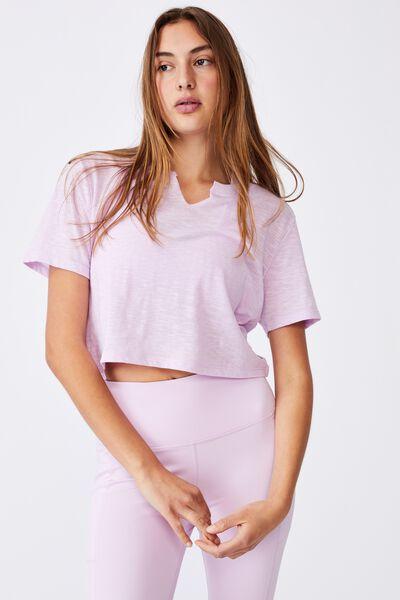 All Things Fabulous Cropped Tshirt, WHITE