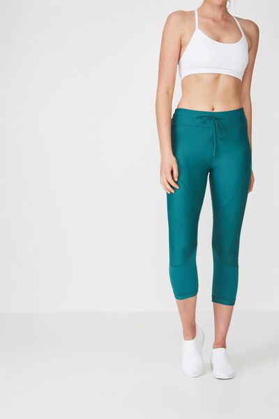 Textured Crop Tight, IVY